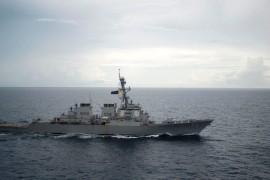 Vorfall im südchinesischen Meer: Kriegsschiffe der USA und China kommen sich gefährlich nahe