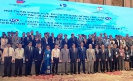 East Sea conference: cooperation for regional security, development
