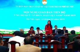 Hanoi raises nearly 1.3 million USD for Vietnam's sea, islands