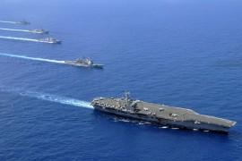 """""""Verantwortungslos"""": China kommentiert US-Vorgehen im Südchinesischen Meer"""