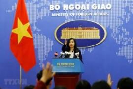 China's recent activities in Hoang Sa violate Vietnam's sovereignty: spokeswoman