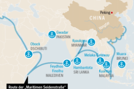 On the way to the largest naval power: China wants sea