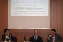 Dritte internationale Diskussionsrunde zum brandaktuellen Thema Südchinesisches Meer an der Universität Hamburg